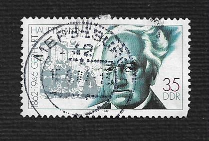 Germany DDR Used Scott #2605 Catalog Value $.25