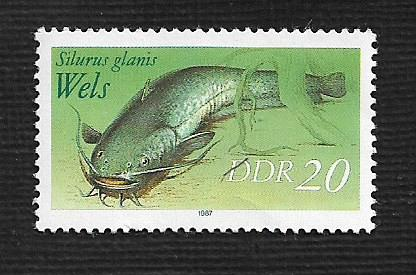 German DDR MNH Scott #2609 Catalog Value $.25