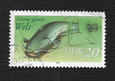 Germany DDR Used Scott #2609 Catalog Value $.25