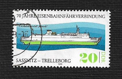 Germany DDR Used Scott #2016 Catalog Value $.30
