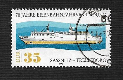 Germany DDR Used Scott #2017 Catalog Value $.30