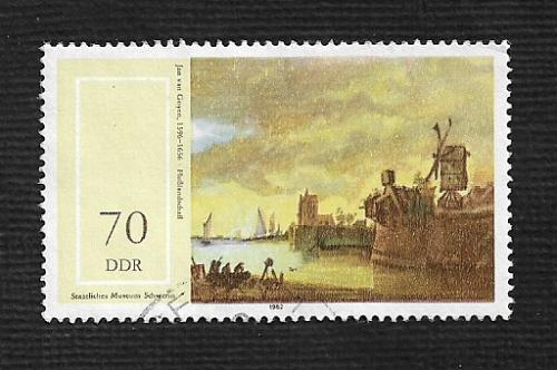 German DDR Used Scott #2289 Catalog Value $1.20