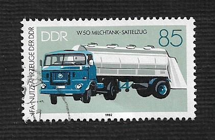 German DDR Used Scott #2306 Catalog Value $1.40