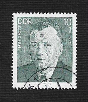 Germany DDR Used Scott #2391 Catalog Value $.25