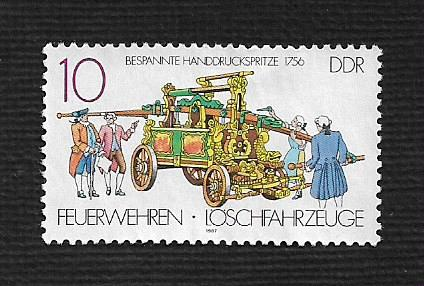 German DDR Hinged NG Scott #2613 Catalog Value $.25
