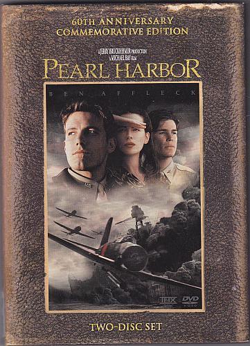 Pearl Harbor DVD 2001, 2-Disc Widescreen - Very Good