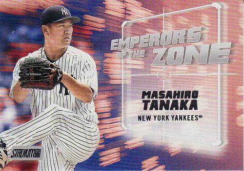 2019 Stadium Club Emperors Of The Zone #4 - Masahiro Tanaka - Yankees