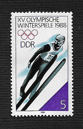 German DDR MNH Scott #2647 Catalog Value $..25