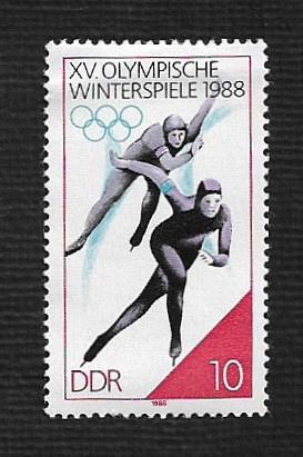German DDR MNH Scott #2648 Catalog Value $..25