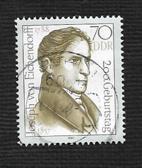 German DDR Used Michel #3148 Catalog Value $1.60