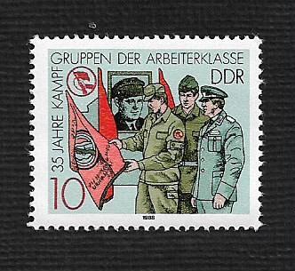 German DDR MNH Scott #2685 Catalog Value $.25