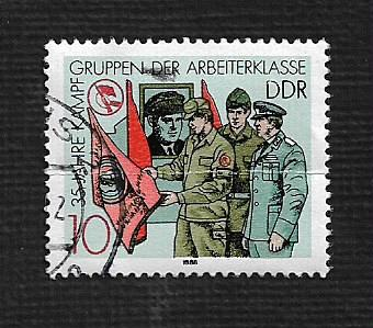 German DDR Used Scott #2685 Catalog Value $.25