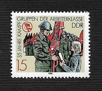 German DDR MNH Scott #2686 Catalog Value $.25