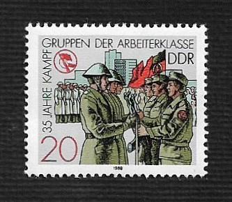 German DDR MNH Scott #2687 Catalog Value $.25