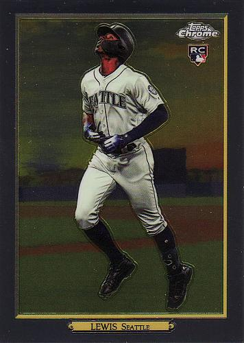 2020 Topps Turkey Red Chrome #89 - Kyle Lewis - Mariners