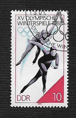 German DDR Used Scott #2648 Catalog Value $.25