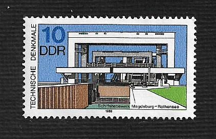 German DDR MNH Scott #2708 Catalog Value $.25