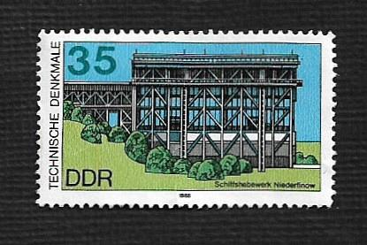 German DDR MNH Scott #2709 Catalog Value $.30