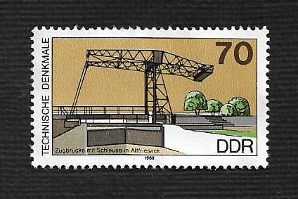 German DDR MNH Scott #2710 Catalog Value $.55