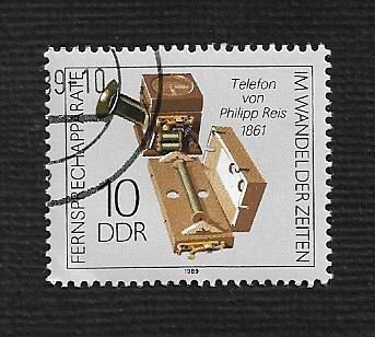German DDR Used Scott #2725 Catalog Value $.25