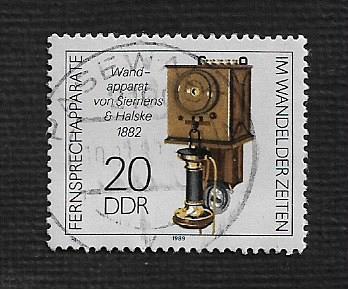 German DDR Used Scott #2726 Catalog Value $.25