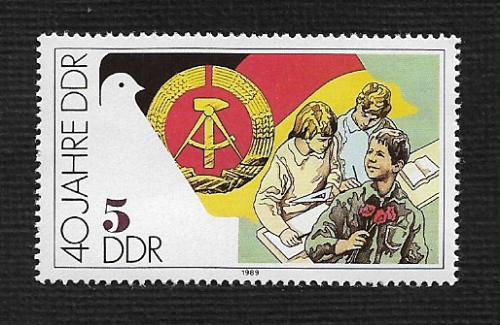 German DDR MNH Scott #2776 Catalog Value $.25
