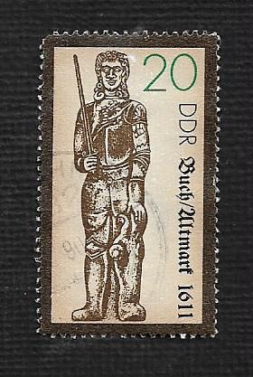 German DDR Used Scott #2784 Catalog Value $.25