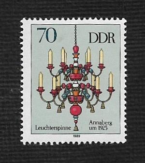 German DDR MNH Scott #2786f Catalog Value $.25