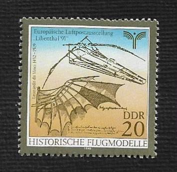German DDR Hinged Scott #2800 Catalog Value $.25