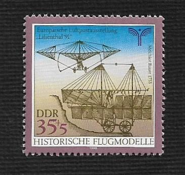 German DDR MNH Scott #2801 Catalog Value $.40