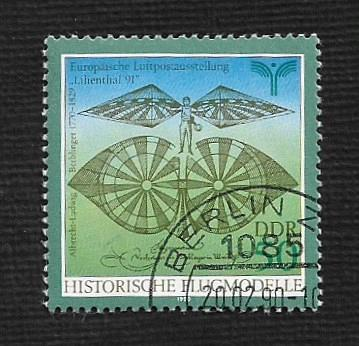 German DDR Used Scott #2802 Catalog Value $.45