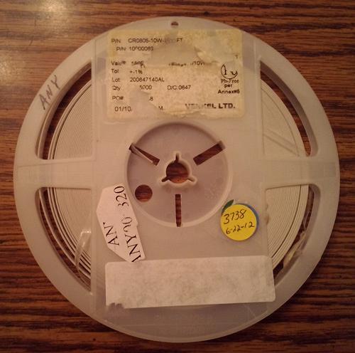 Lot of 3738 ?: Venkel CR0805-10W-1800FT Resistors