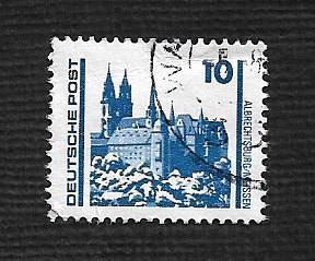 German DDR Used Scott #2832 Catalog Value $.30