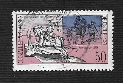 German DDR Used Scott #2842 Catalog Value $.45