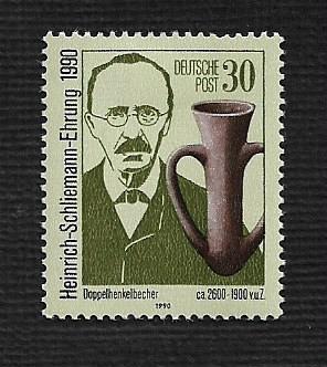 German DDR Hinged Scott #2847 Catalog Value $.30