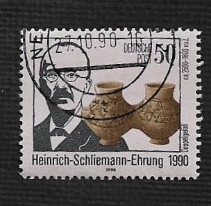 German DDR Used Scott #2848 Catalog Value $.65