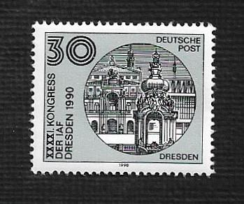 German DDR Hinged Scott #2849 Catalog Value $.25