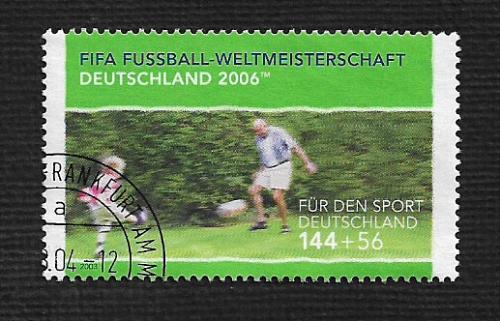 German Used Scott #B919 Catalog Value $4.75