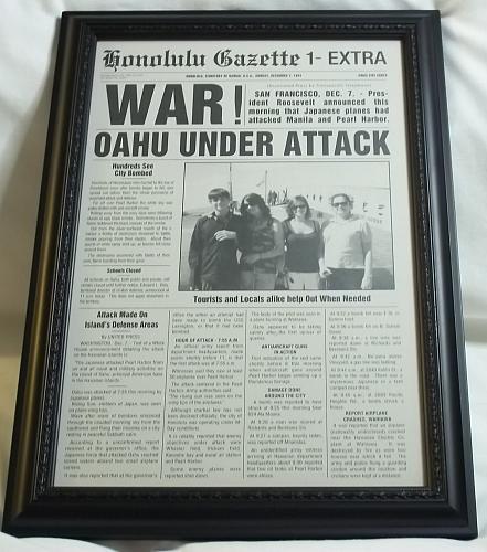 Dec 7th 1941 war! Oahu under attack