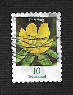 German Used Scott #3060 Catalog Value $.25