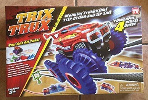 trix trux ... monster trucks that flip, climb,and zip- line