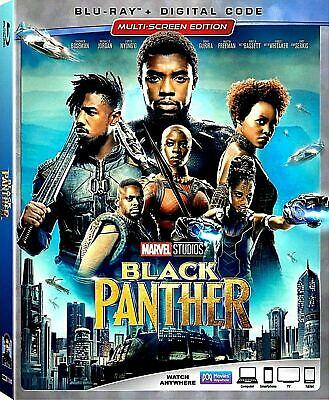 BLACK PANTHER BLU-RAY + DIGITAL CODE