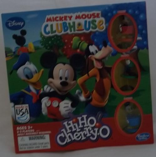 'HiHo Cherry-O' Mickey Mouse cluhouse Edition