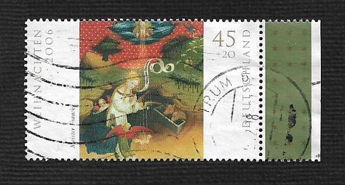 German Used Scott #B982 Catalog Value $1.40