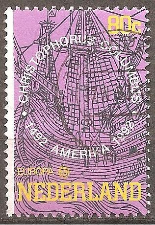 [NE0813] Netherlands: Sc. No. 813 (1992) Used