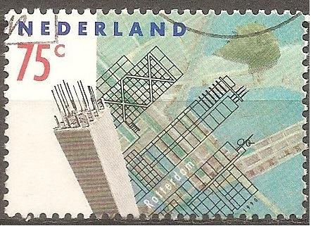 [NE0758] Netherlands: Sc. No. 758 (1990) Used