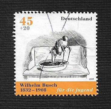 German Used Scott #B989a Catalog Value $1.75