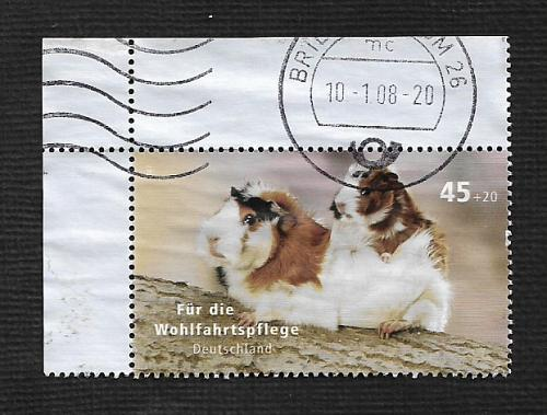 German Used Scott #B992 Catalog Value $1.90