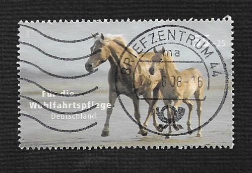 German Used Scott #B993 Catalog Value $1.90