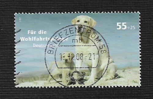 German Used Scott #B994 Catalog Value $1.90